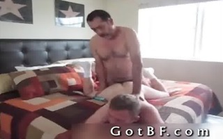 bearded dad copulates his paramour in the butt 7