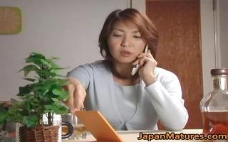sexually excited japanese aged honeys engulfing