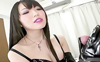 glove cfnm sex femdom tugjob humiliation
