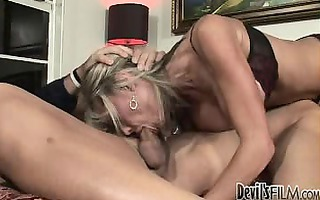 mother teaching daughter how to engulf weenie 011