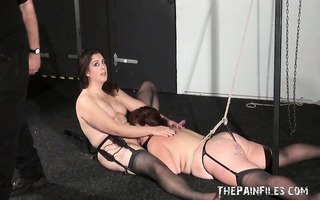 outlandish lesbo sexslaves and harsh insertions