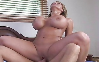 mature woman with big bumpers having hardcore sex