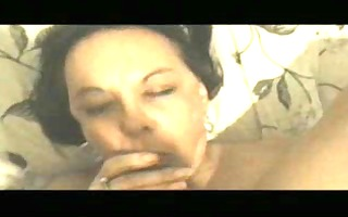 aged mexican non-professional oral stimulation