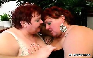 bawdy cleft licking older bbws