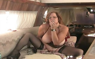 solo #8 (older redhead with big tits)