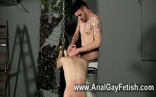 homosexual clip of serf lad fed hard