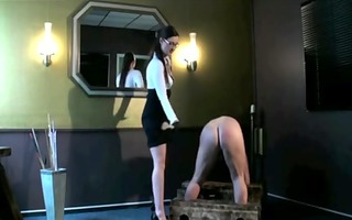 domme spanks his arse!!!!!!!