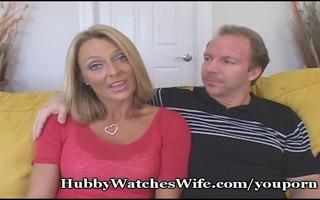 sexy wife getting fed youthful schlong