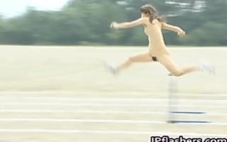 oriental dilettante in bare track and field part11