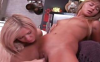 cute nubiles having lesbo pleasure