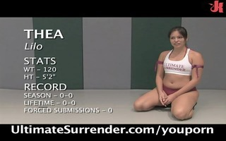 most excellent stripped wrestling on the net!