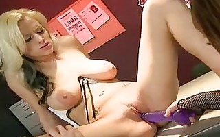 wicked lesbo pornstars with big mounds fingering