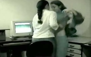 - cute youthful latin office legal age teenagers