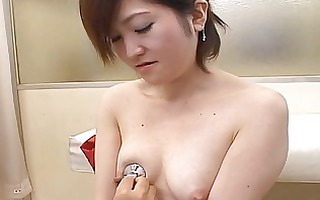 japanese av model drilled