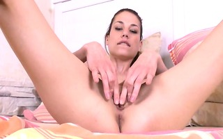 gyno toys in her unfathomable bawdy cleft muff