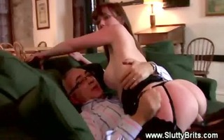 old chap is getting screwed by youthful sweetheart