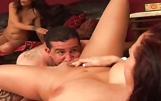 foursome sex fuckfest with dark brown sweethearts