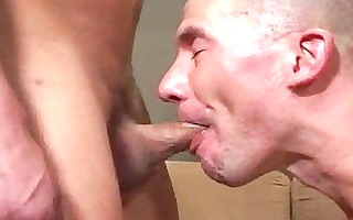 hardcore cock engulfing homo mate screwed