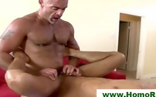 homosexual str oil hard pecker anal pounder ring
