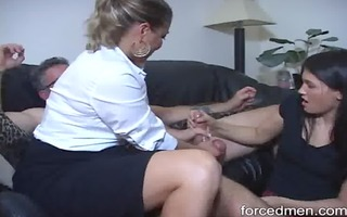 mommy and daughter tandems in masturbating a