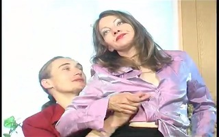 mother catches boyfriend jerking