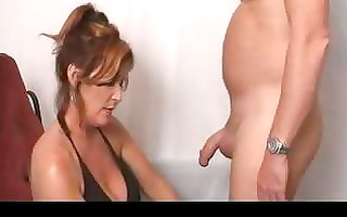 busty mother i facialized after oral-job tugjob