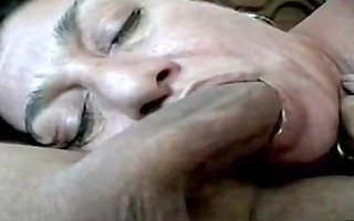 throat fucking his wife