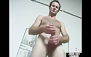 aged stud t live without to play with his wang