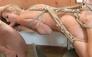 hawt angel acquires bondaged and punished