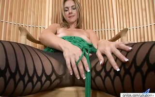 milfy hose strip and toying