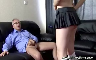 old dude is defliling a hot youthful cum-hole