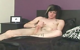 sexy twink see as zaccary drains his gorgeous 4?