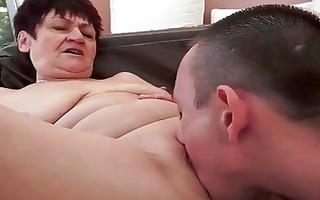 boy bonks wicked chubby granny