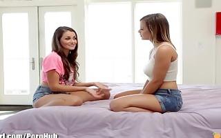 mommysgirl lisa ann shows youthful lesbian babes