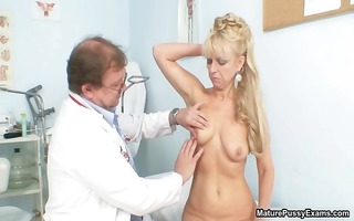 blonde aged mamma acquires fulyl examed part11