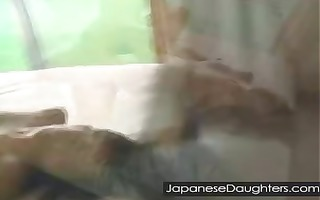 japanese daughter painfully fucked right into an