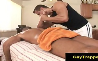 fleshly homo massage with excited massage chap