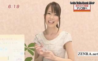 subtitled crazy japanese news tv show toy