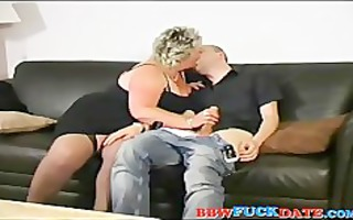 fat arse older big beautiful woman swallow