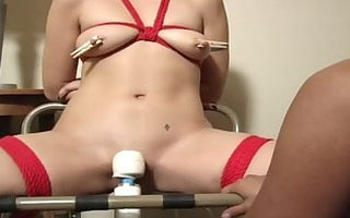 lesbos tied and fucked - scene 0 - maxine x