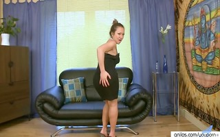 lonely oriental mother i in hot nylons masturbates
