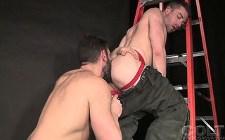 bob hager and scott hunter fuck in their