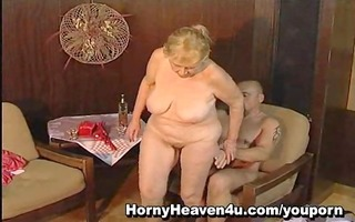 119 year old granny likes younger cocks!