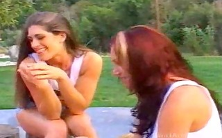 in the park lesbo preference cunt over dick