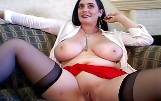 charming breasty older group-sex