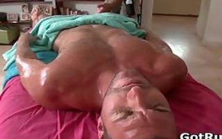 super hawt lad acquires fine body massages part5