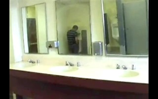 urinal jerking compilation
