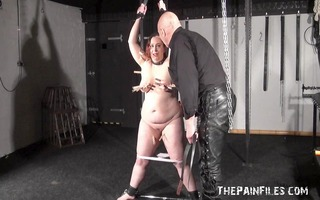 private dungeon torture to tears of bulky amateur