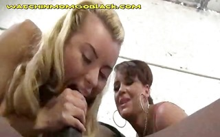 daughter rides bbc mama masturbates