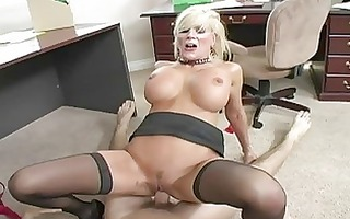 breasty blond d like to fuck engulfing wang and